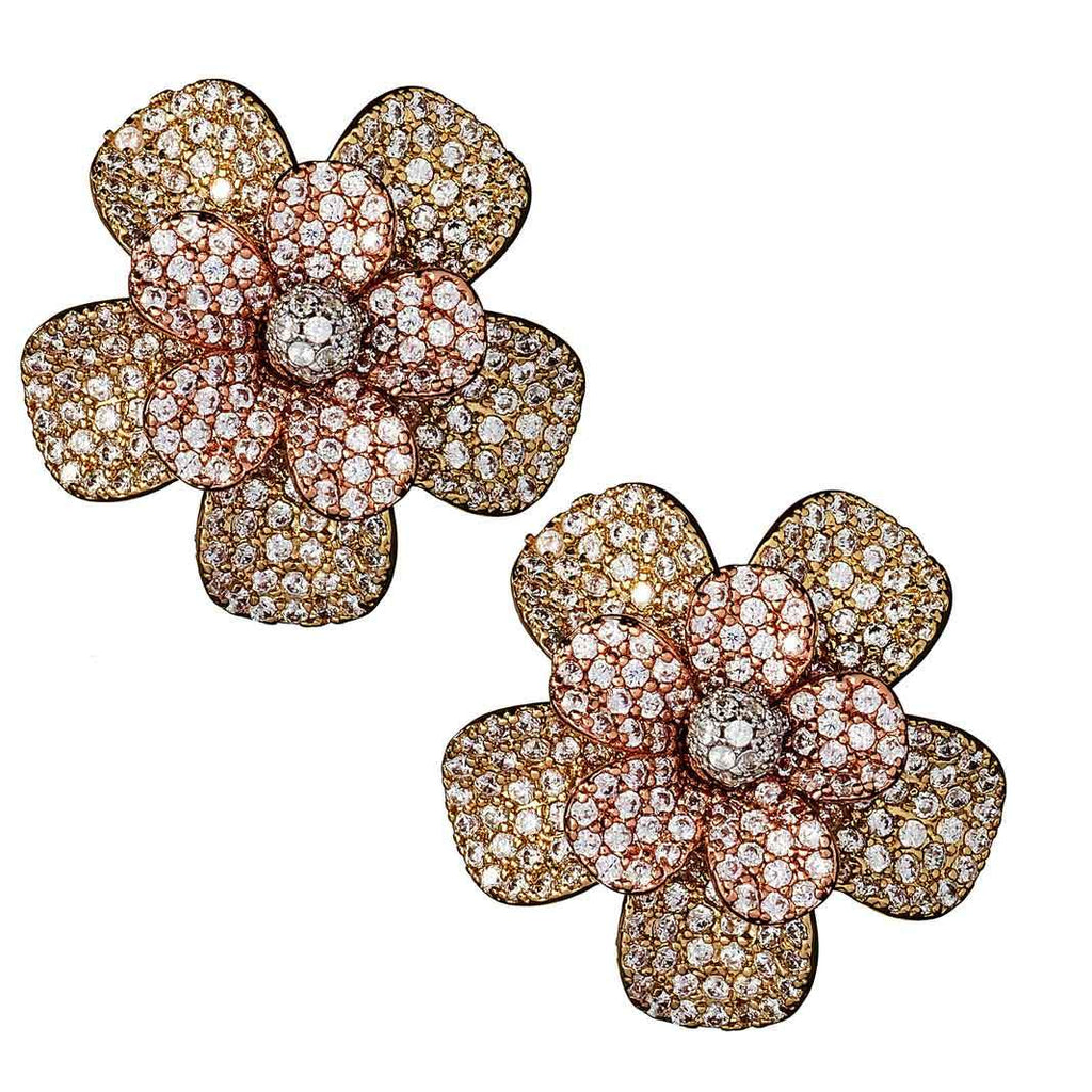 Holland Floral Stud Earrings