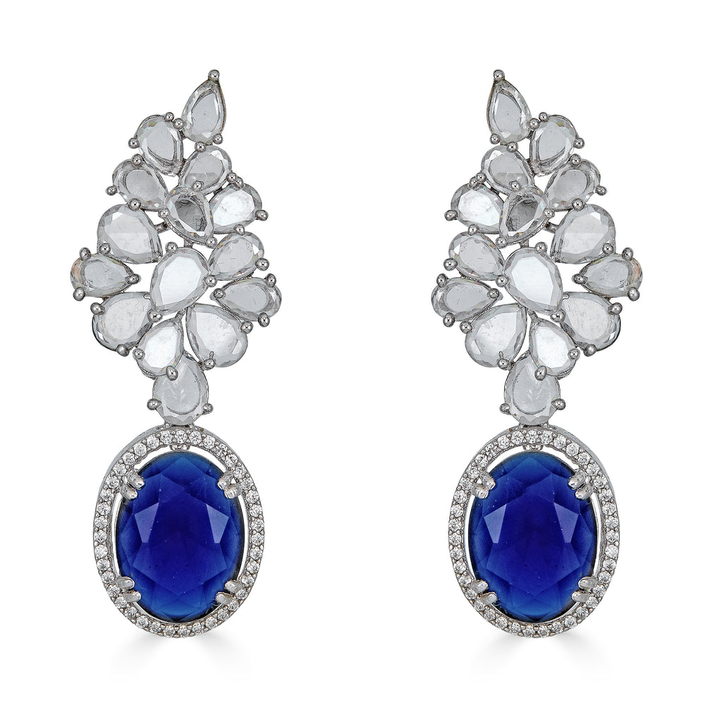 Trixie Sapphire Drop Earrings