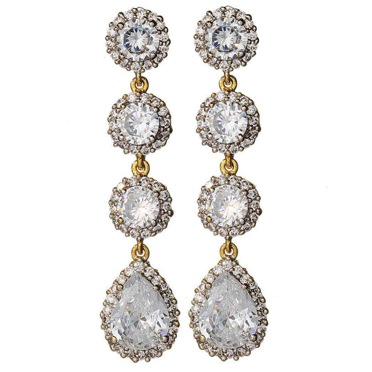 Novalee Gold Drop Earrings