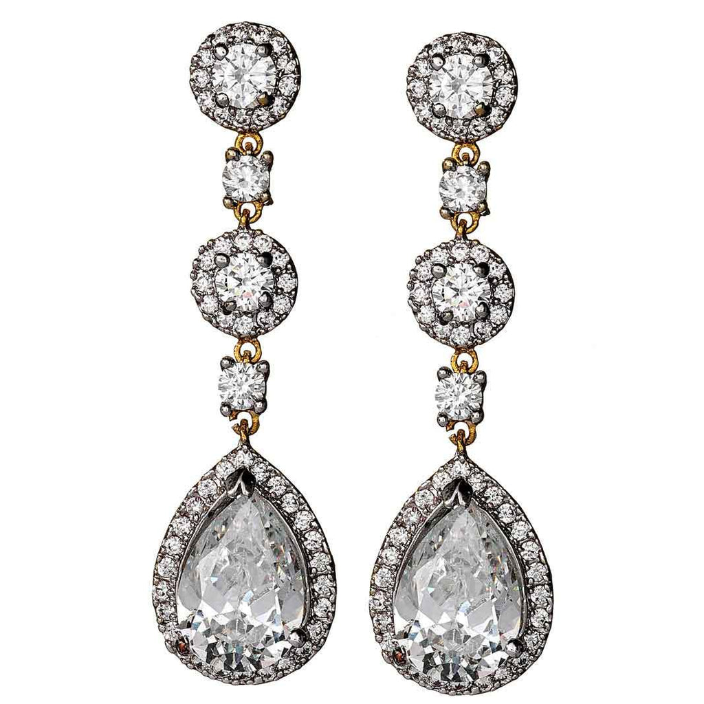 Amalia Gold Drop Earrings