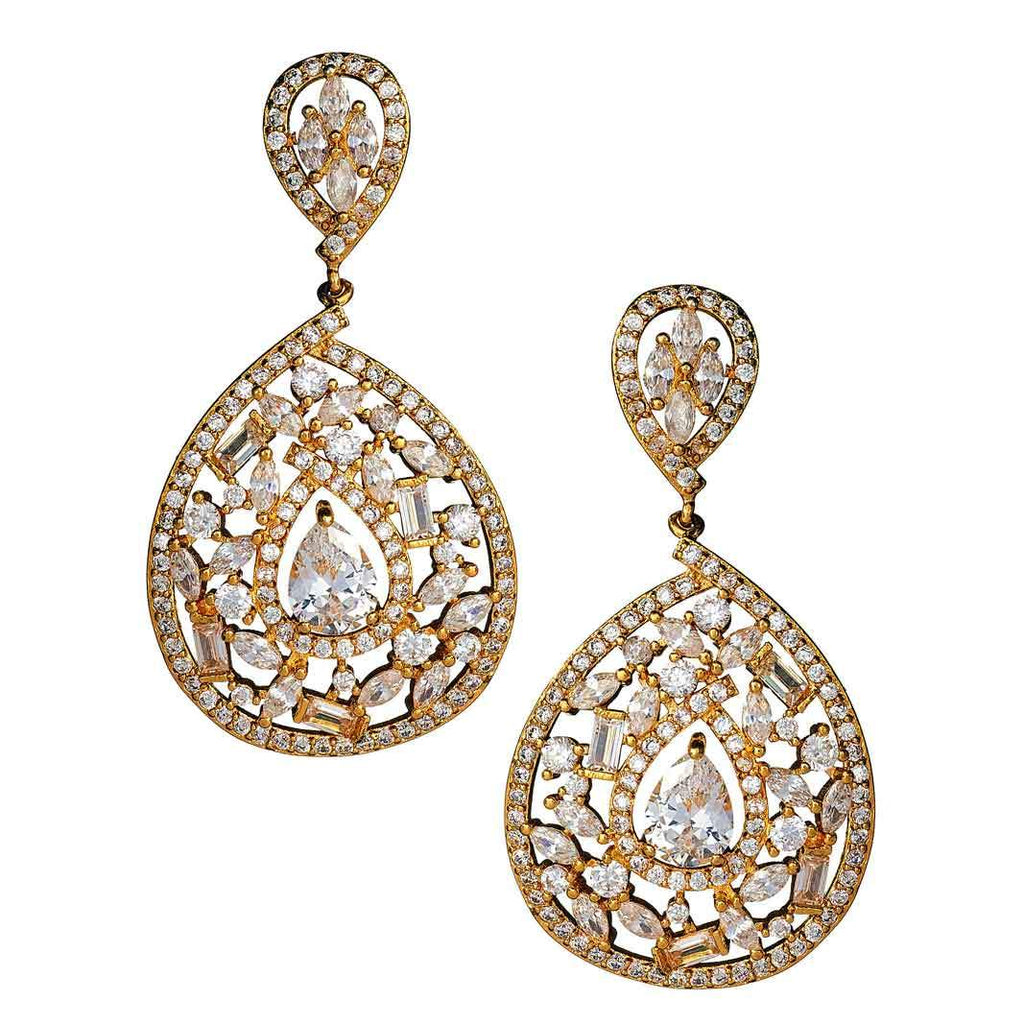 Aviana Gold Drop Earrings