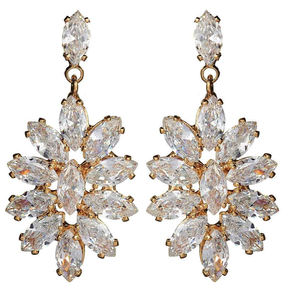 Vida Floral Drop Earrings