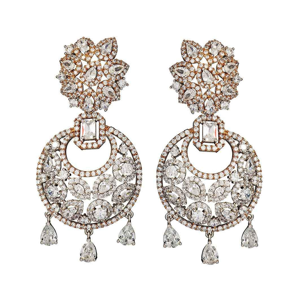 Reign Crystal Statement Earrings