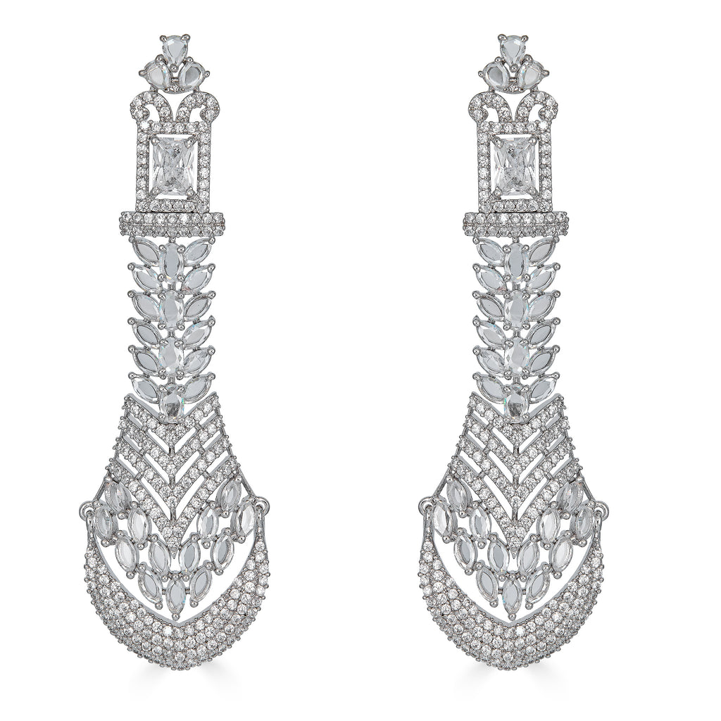 Grier Crystal Statement Earrings