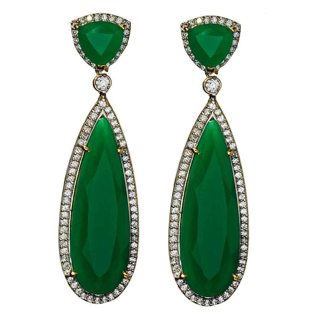 Yaya Emerald Drop Earrings