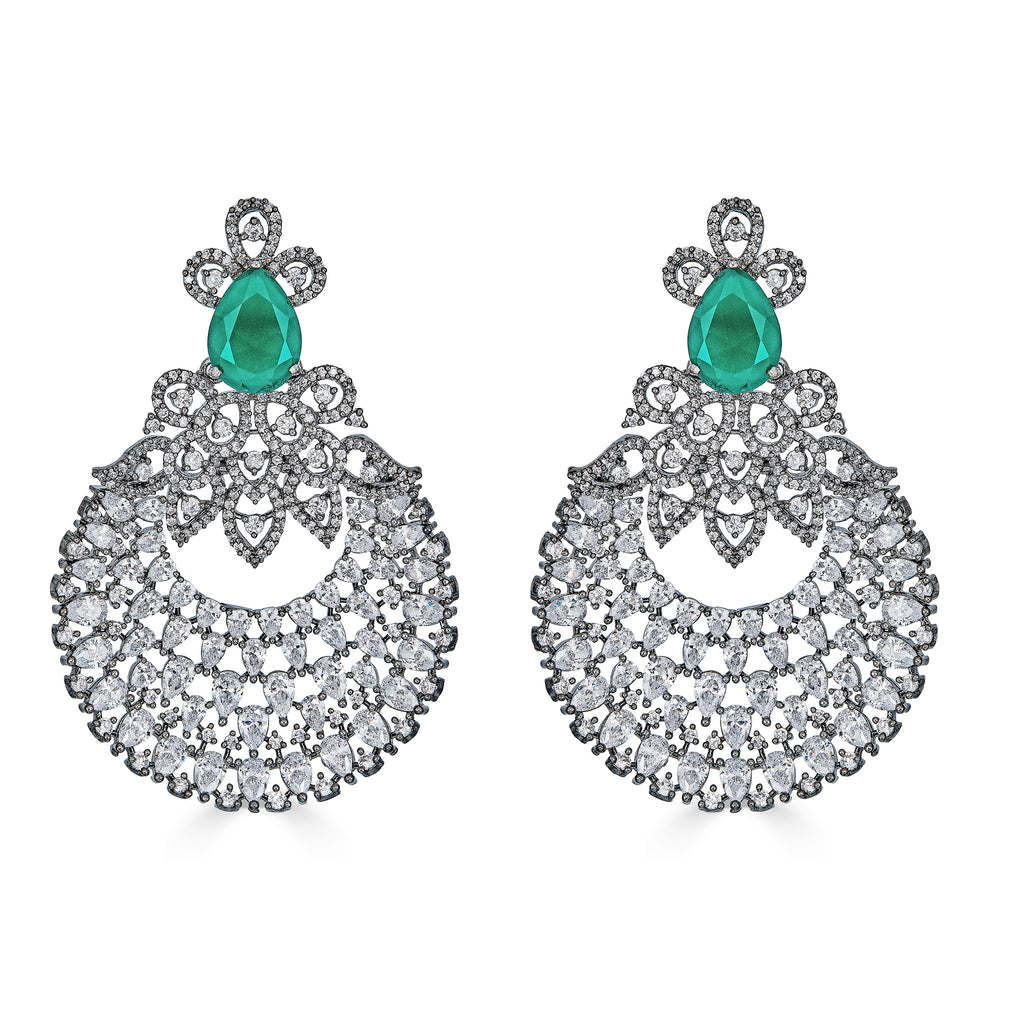 Schuyler Vintage Statement Earrings