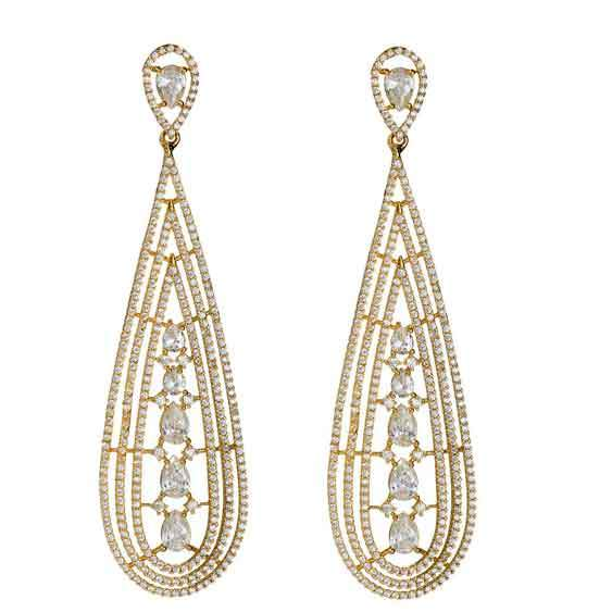 Nora Gold Drop Earrings