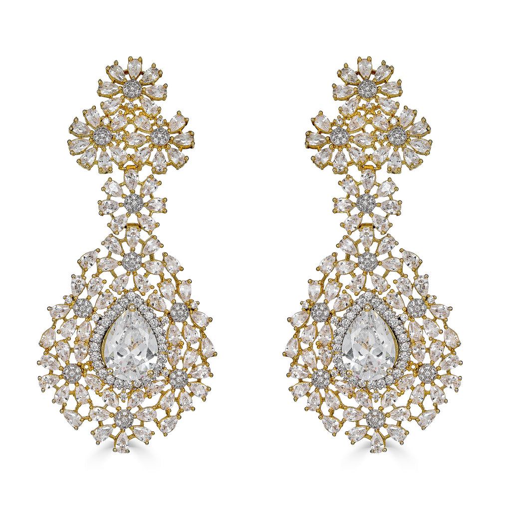 Hadley Gold Chandelier Earrings