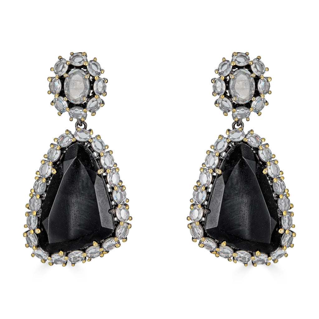 Eden Onyx Drop Earrings