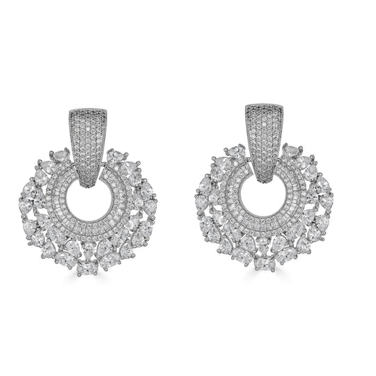 Esther Crystal Drop Earrings