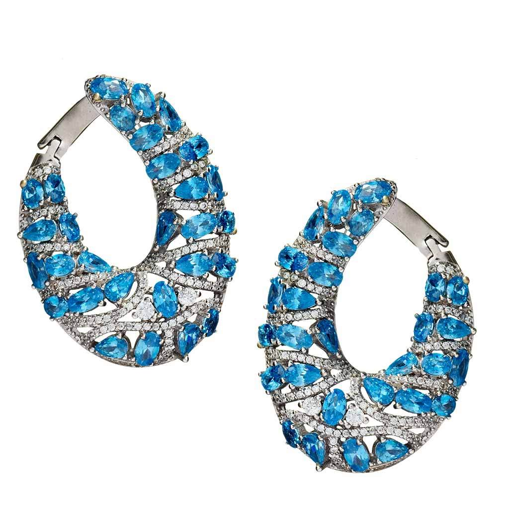 Ellie Turquoise Drop Earrings