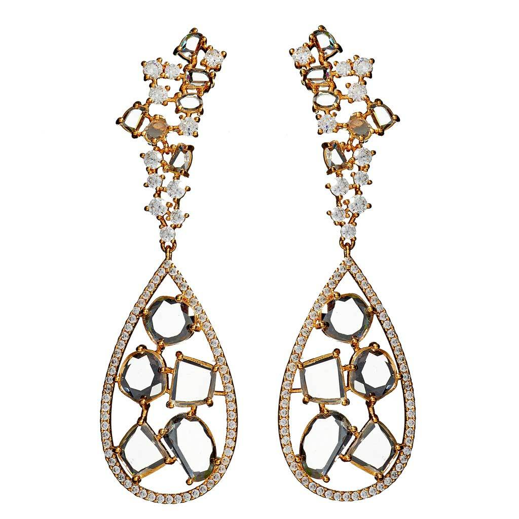 Isabelle Gold Drop Earrings