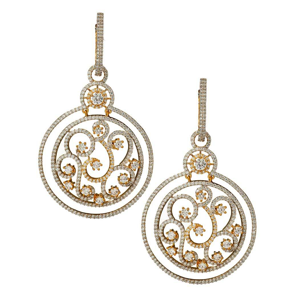 Faith Gold Hoop Earrings
