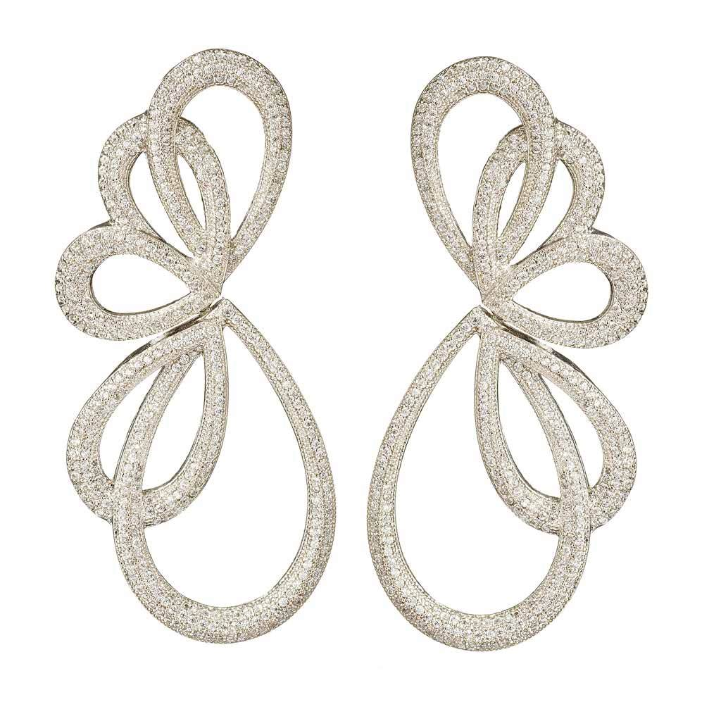 Noah Crystal Statement Earrings