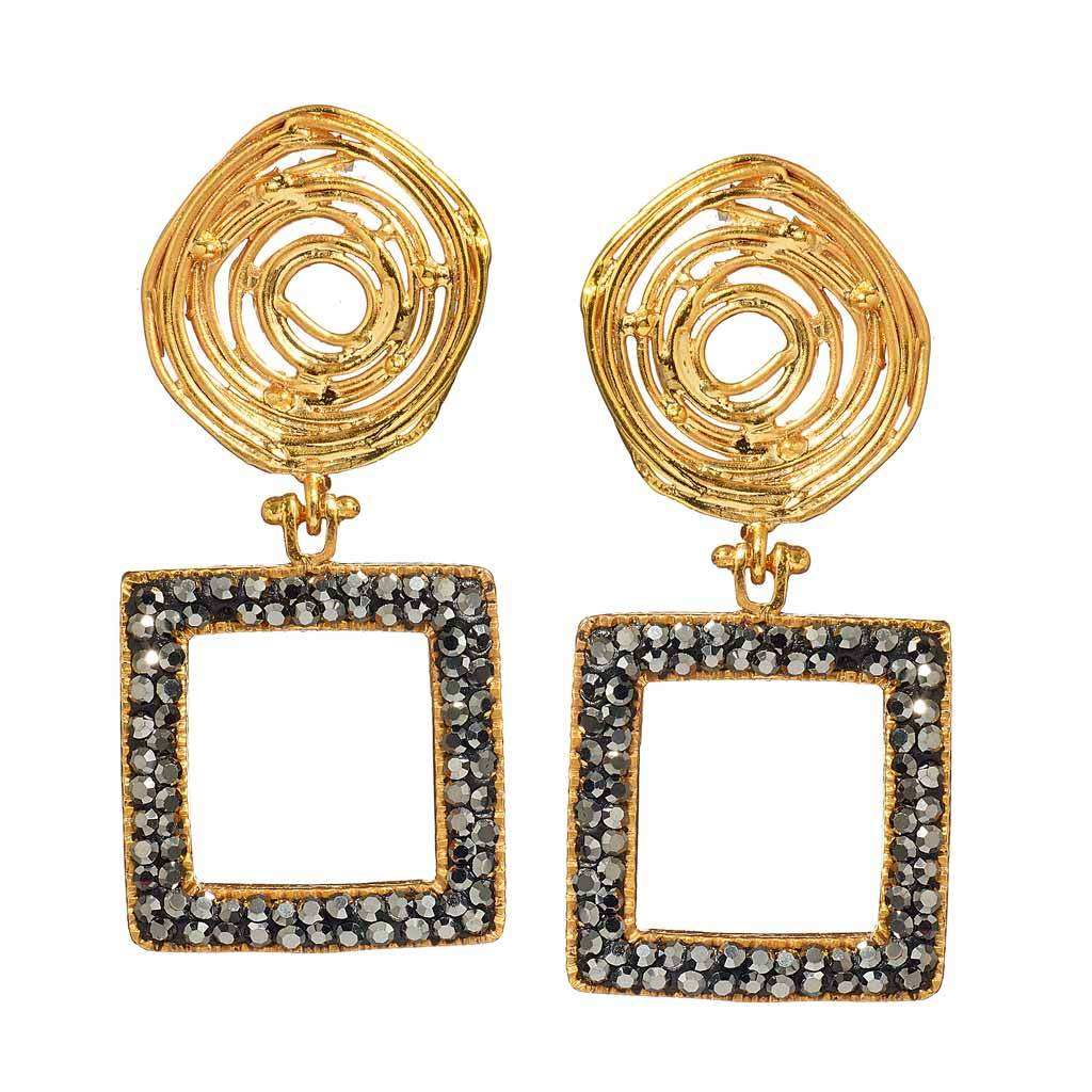 Kayla Gold Drop Earrings