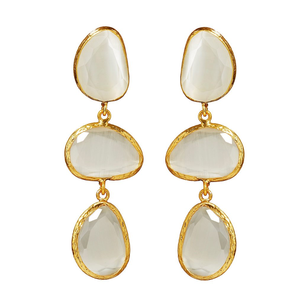 Melody Mother-of-Pearl Drop Earrings