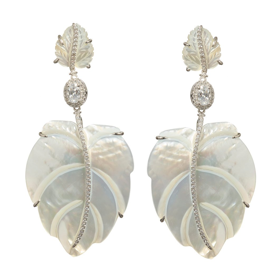 Emerson Mother-of-Pearl Earrings