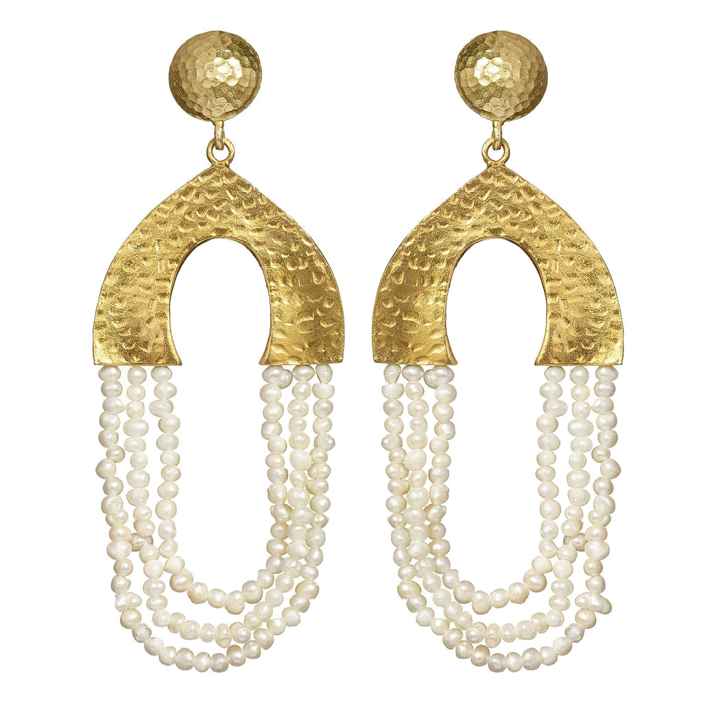 Etta Peal Statement Earrings