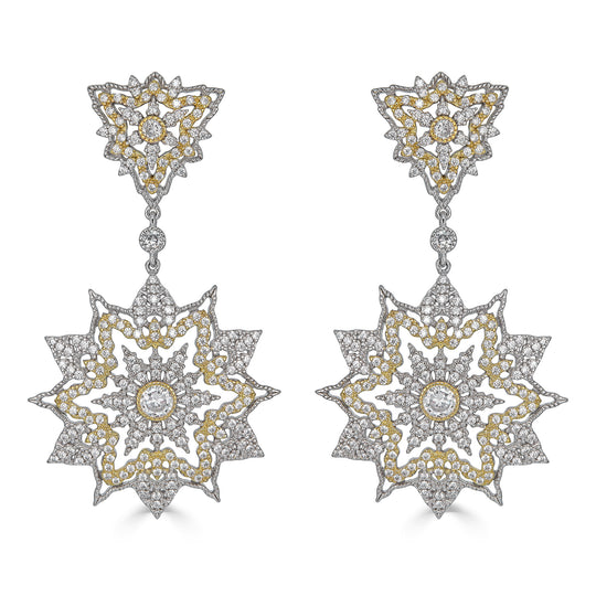 Arely Starburst Drop Earrings