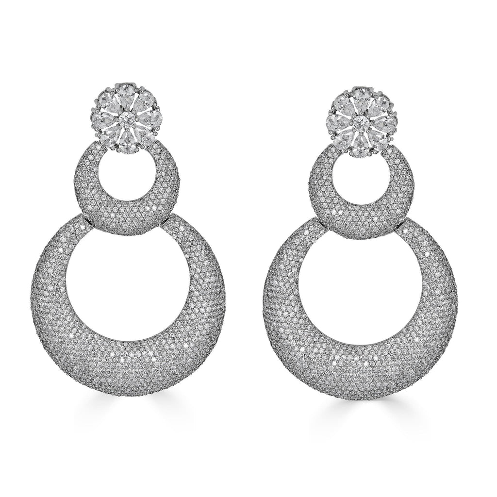 Arlette Circular Statement Earrings
