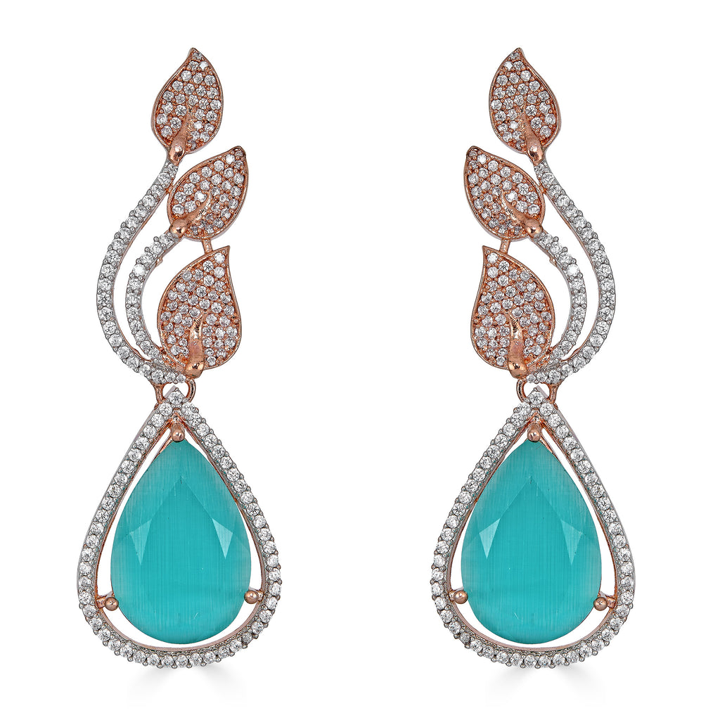 Estrella Aquamarine Drop Earrings