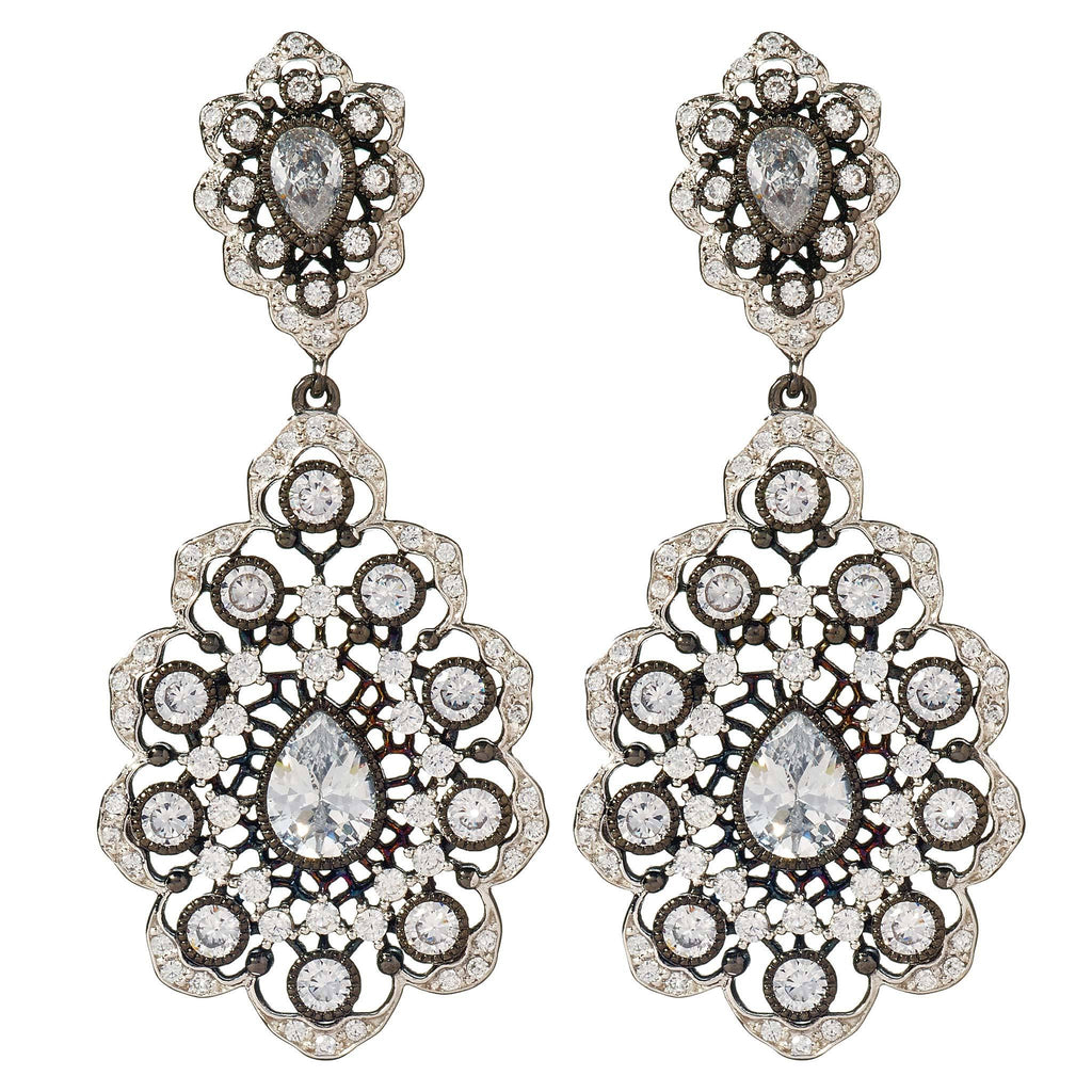 Hadlee Vintage Drop Earrings