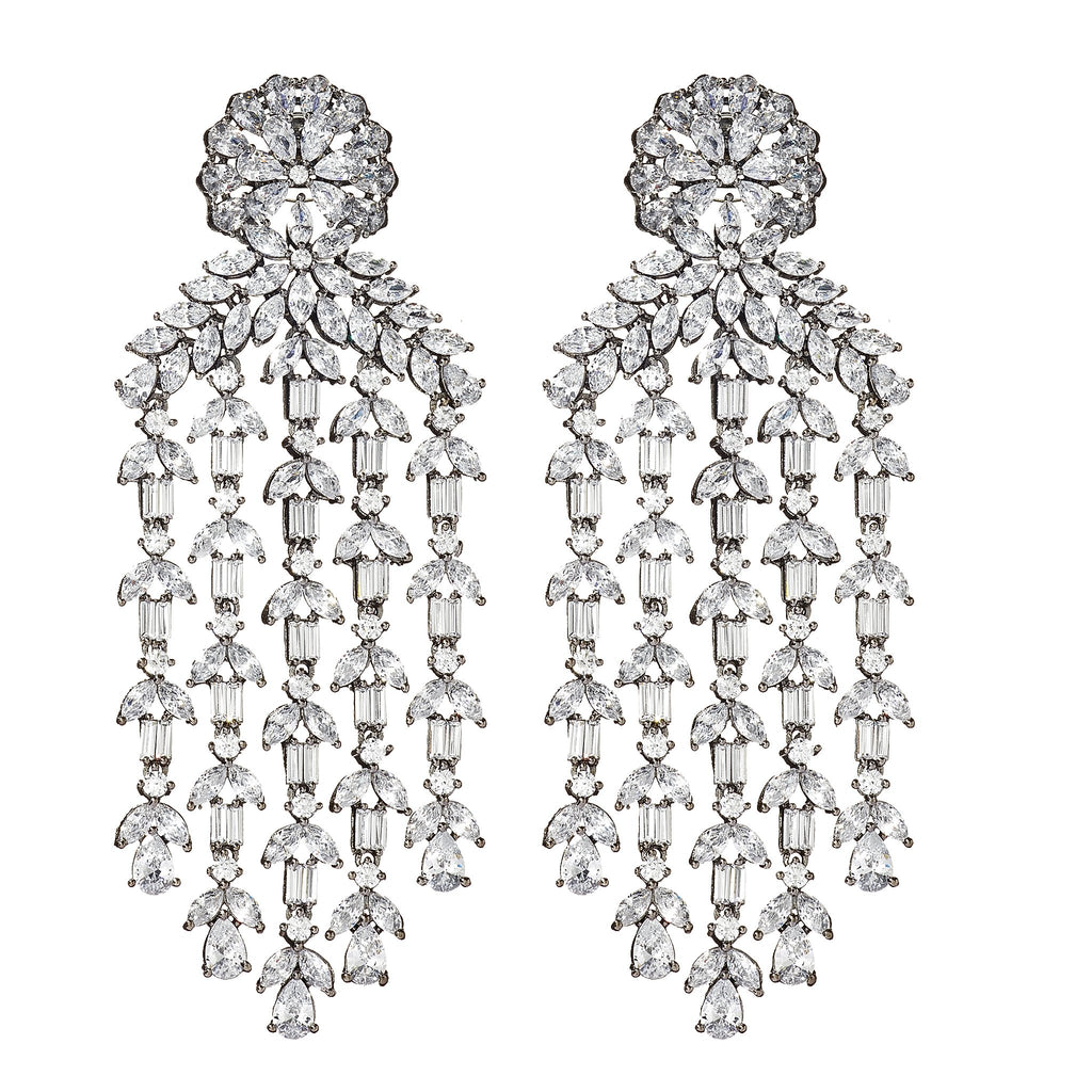 Destiny Waterfall Chandelier Earrings