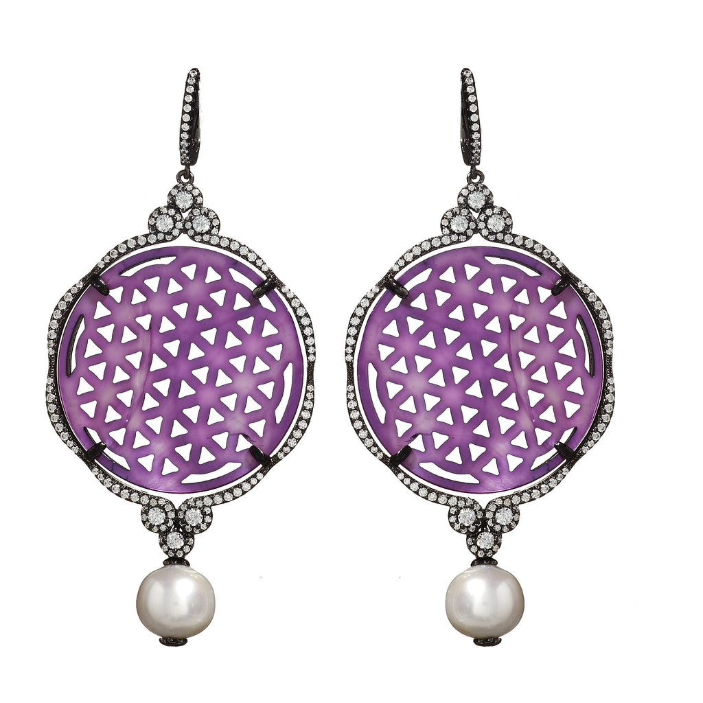 Blakely Pearl Drop Earrings