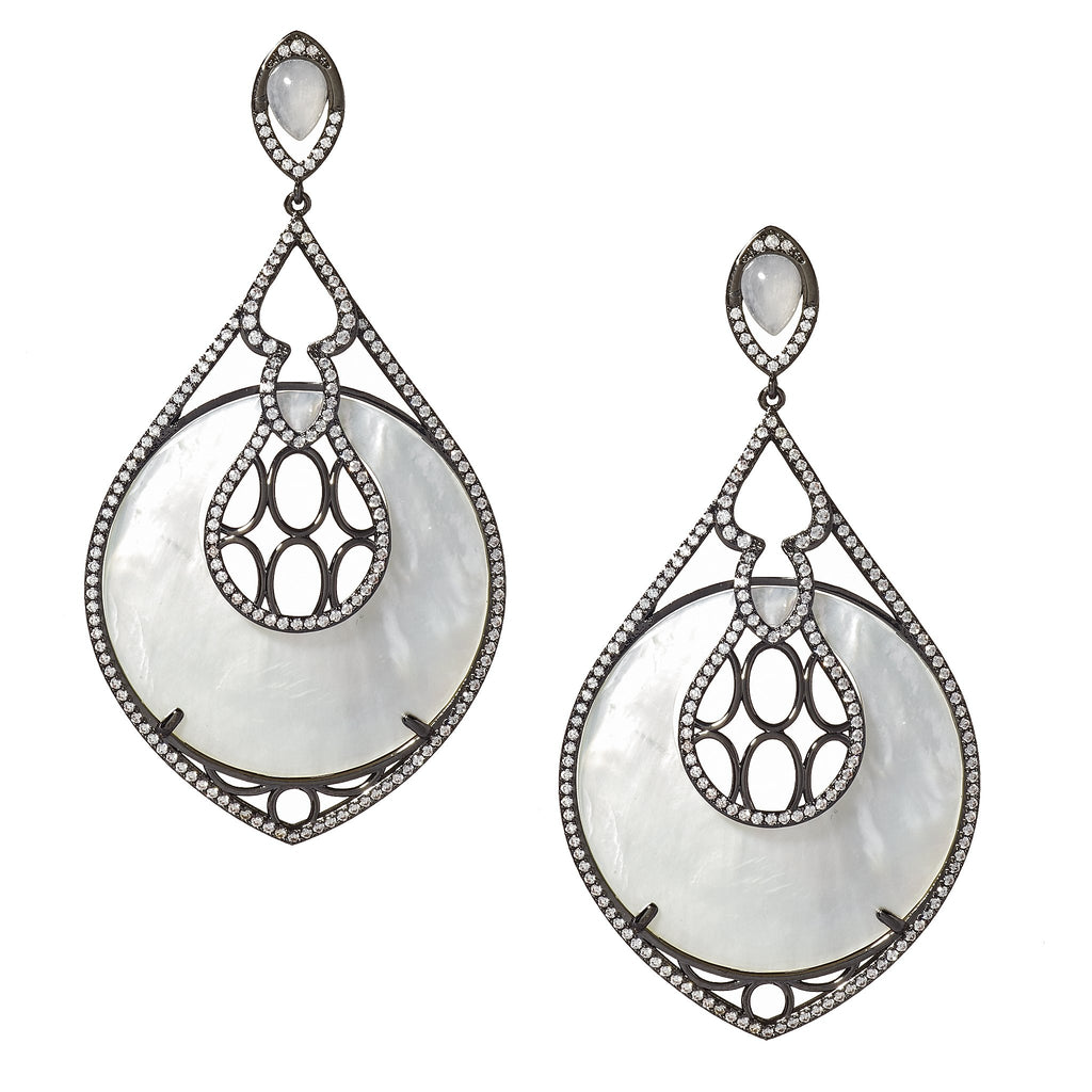 Miriam Mother-of-Pearl Drop Earrings