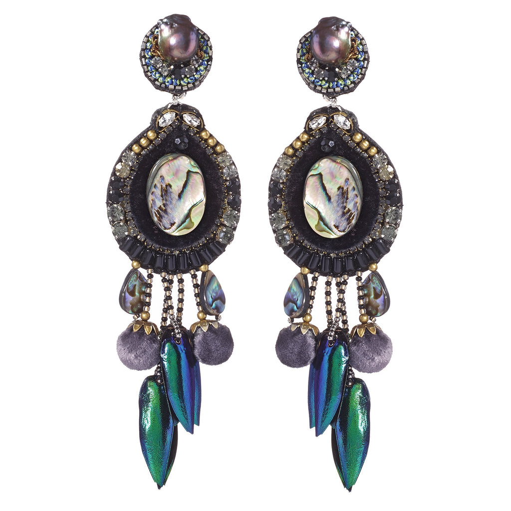 Floretta Vintage Chandelier Earrings
