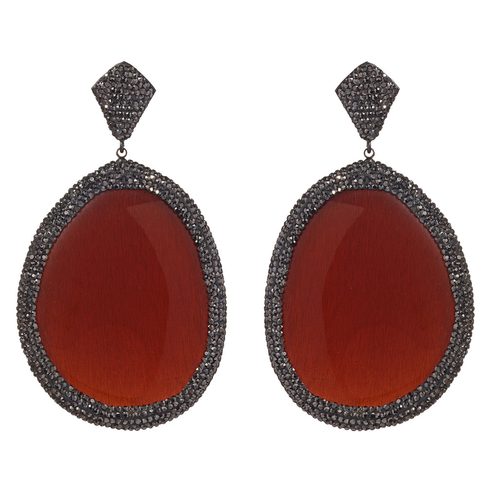 Joselyn Resin Statement Earrings