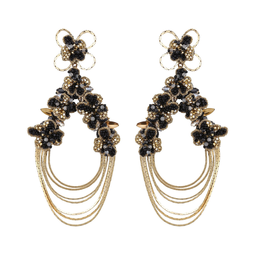 Iesha Dramatic Statement Earrings
