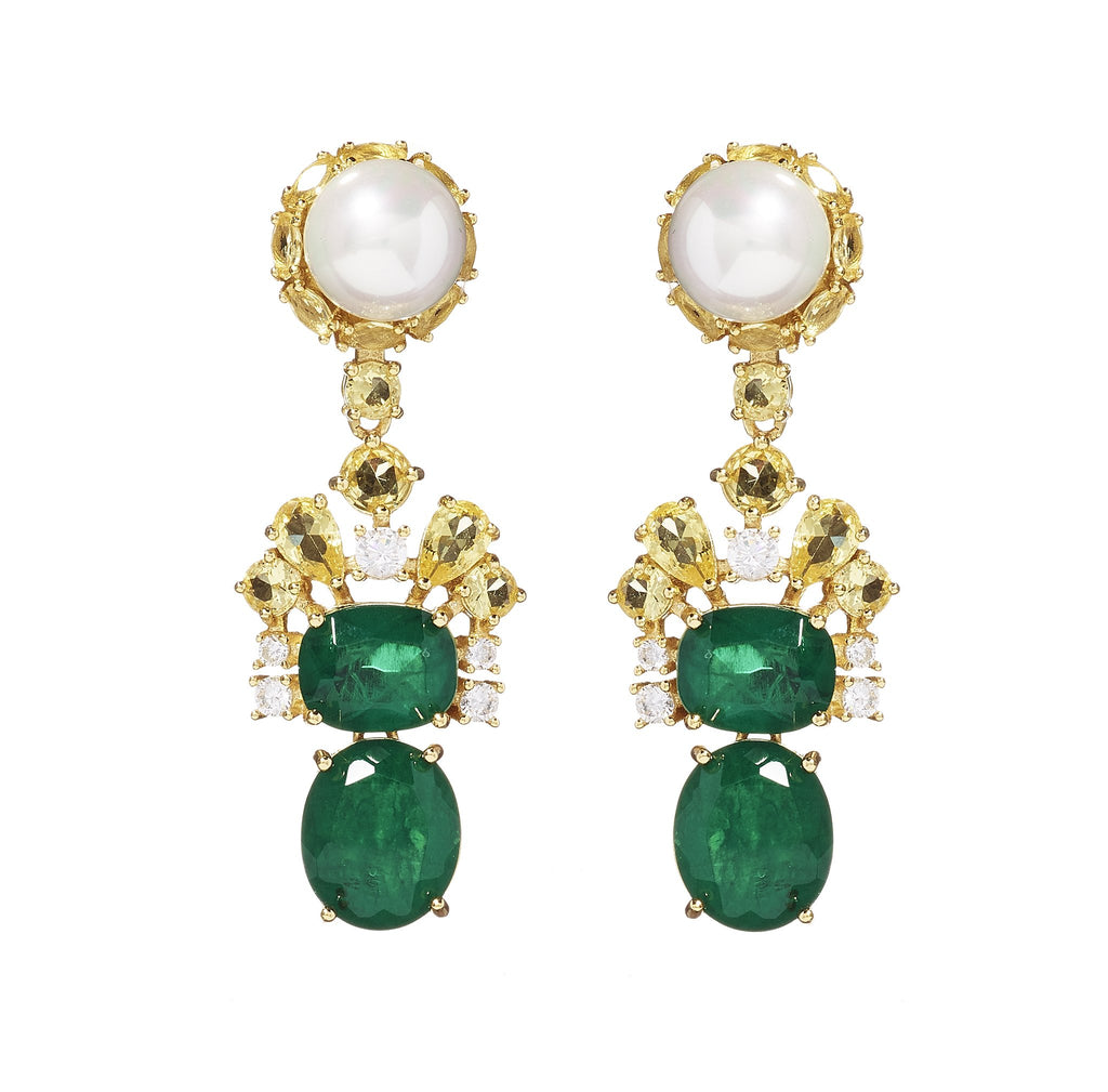 Fabiola Pearl Drop Earrings