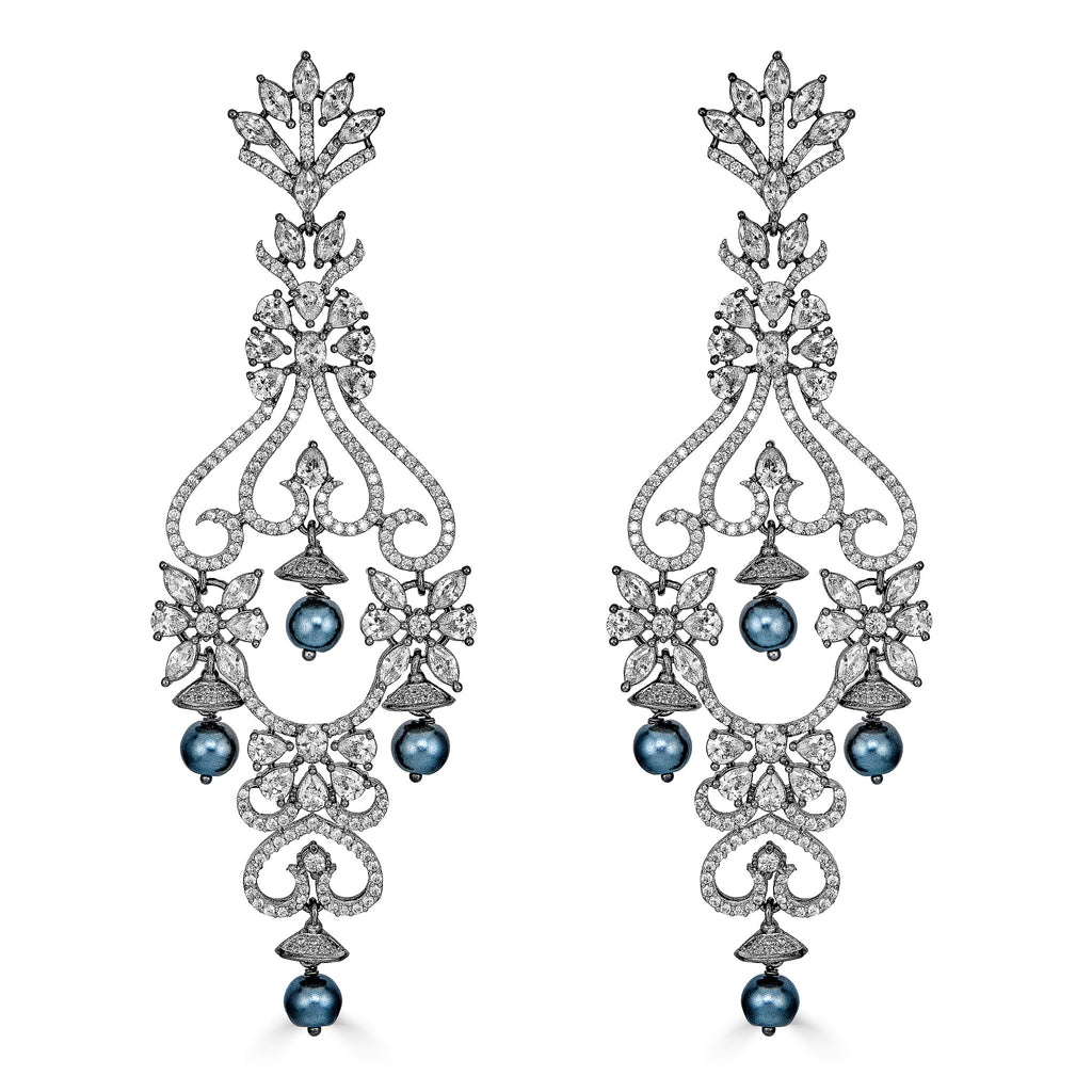 Oda Crystal Statement Earrings