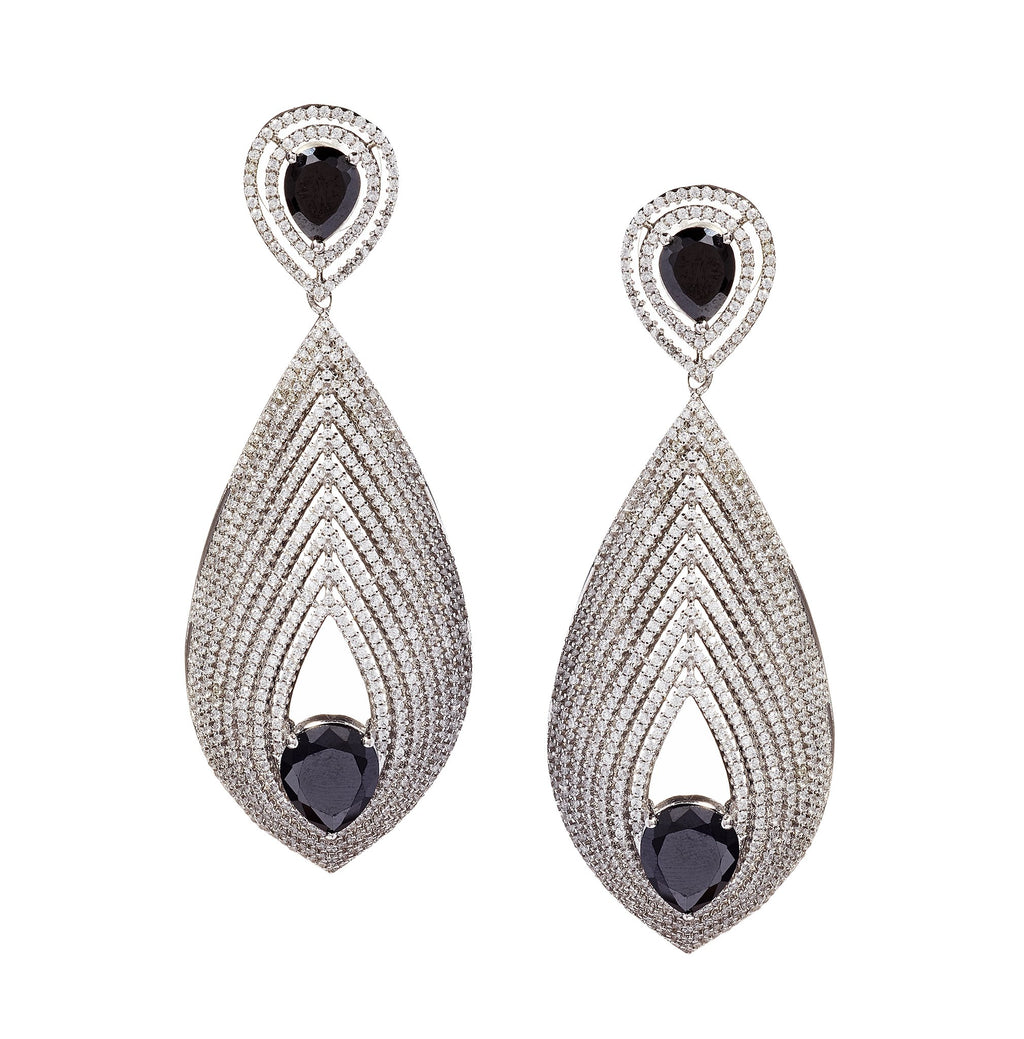 Precious Crystal Drop Earrings