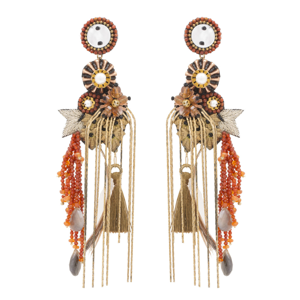 Verona Boho Chandelier Earrings