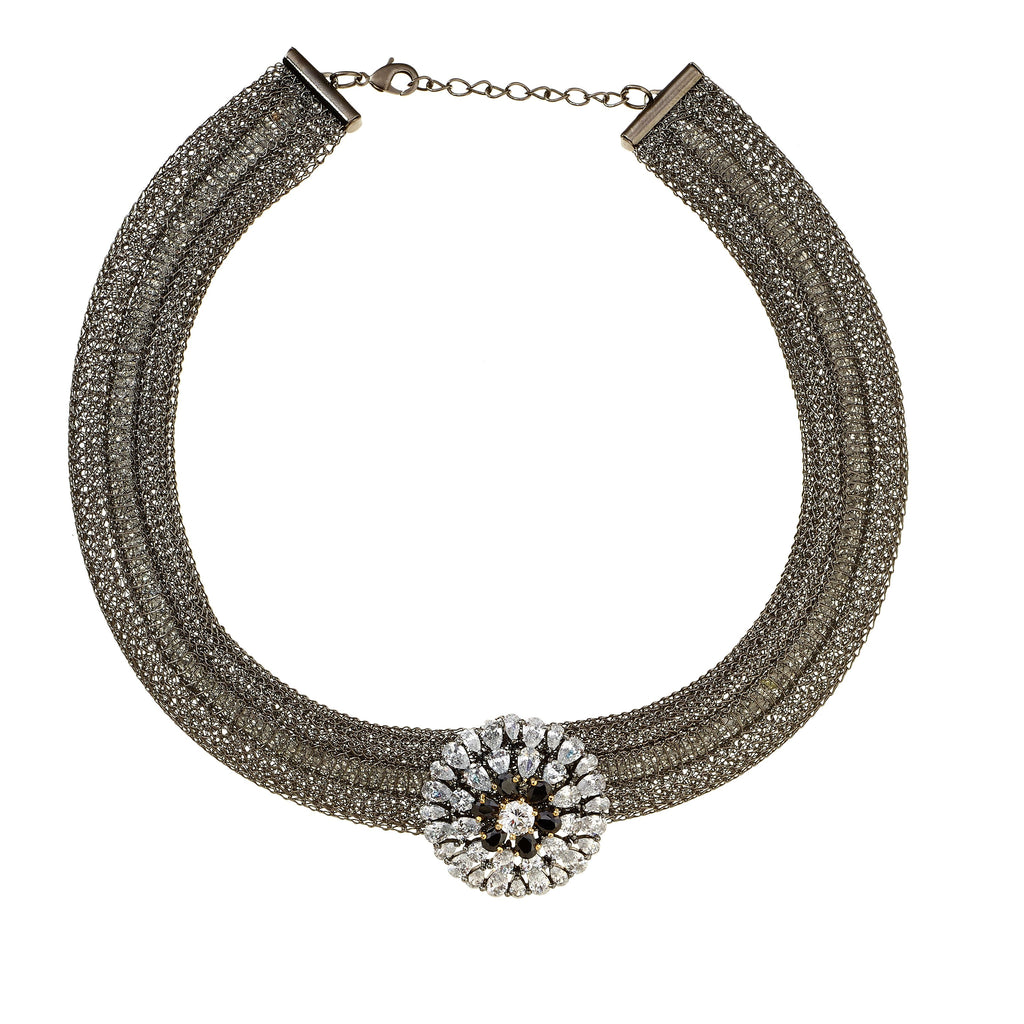 Riley Pendant Choker Necklace