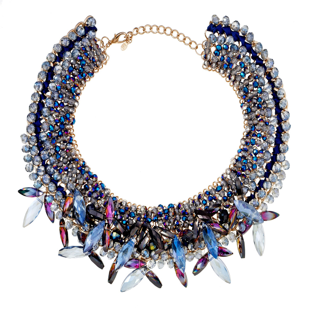 Biana Beaded Bib Necklace