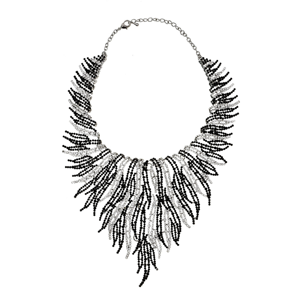 Tatum Fringe Statement Necklace