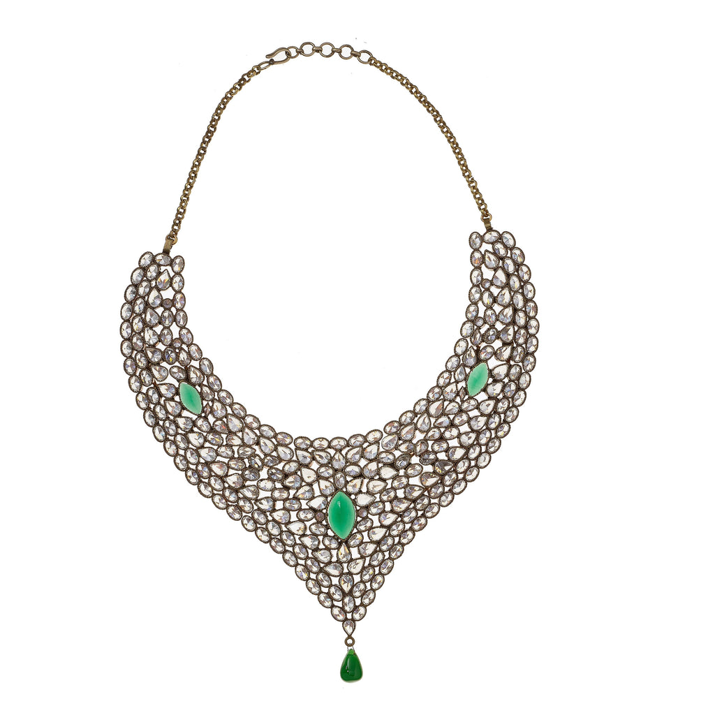 Dixie Vintage Crystal Necklace