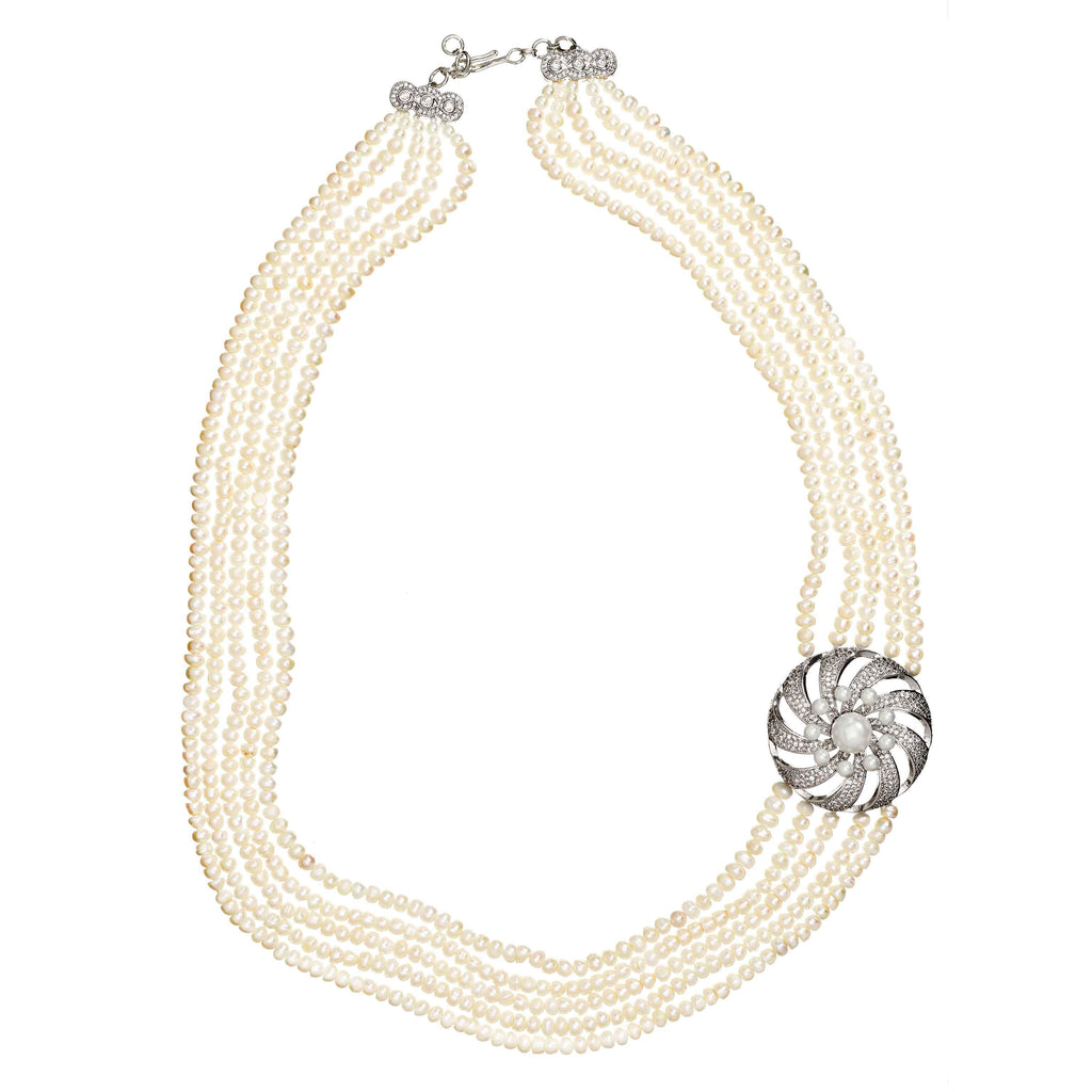 Camyrn Imitation Pearl Necklace