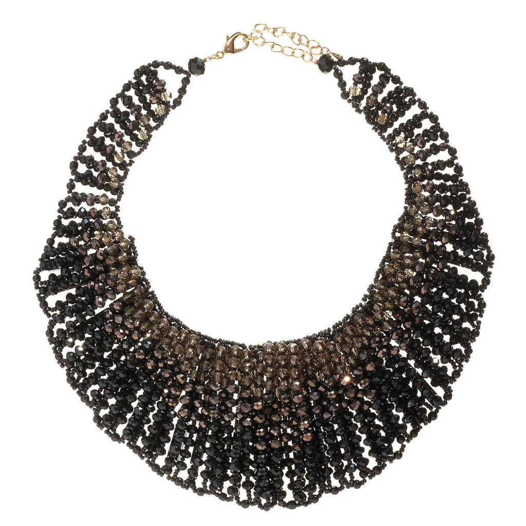 Lynda Beaded Crystal Necklace