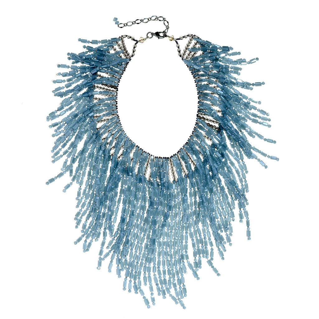Sawyer Fringe Statement Necklace