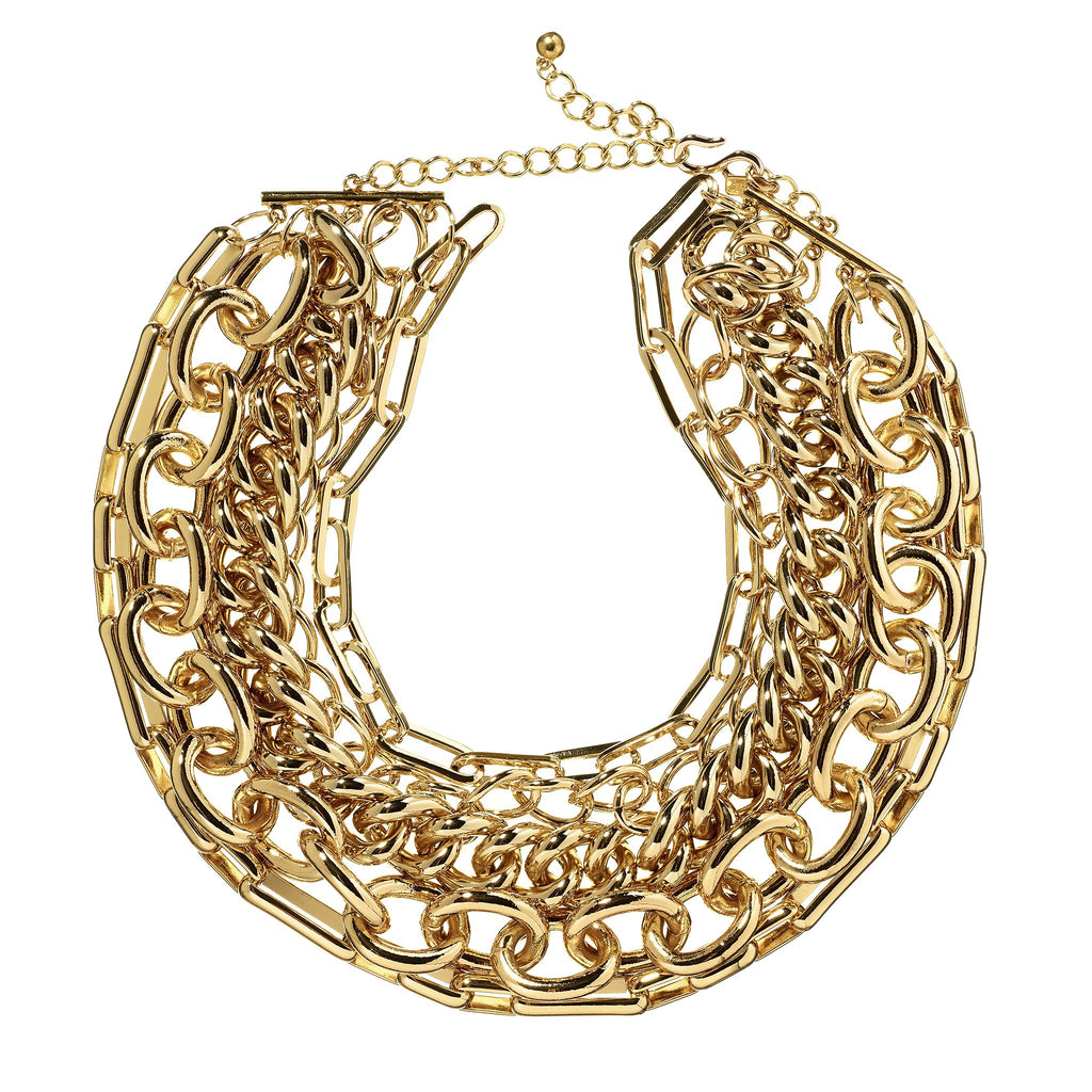 Jacey Multi-Layered Chain Necklace