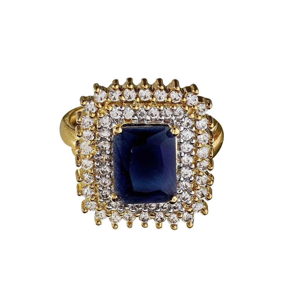 Lecy Gold Sapphire Ring