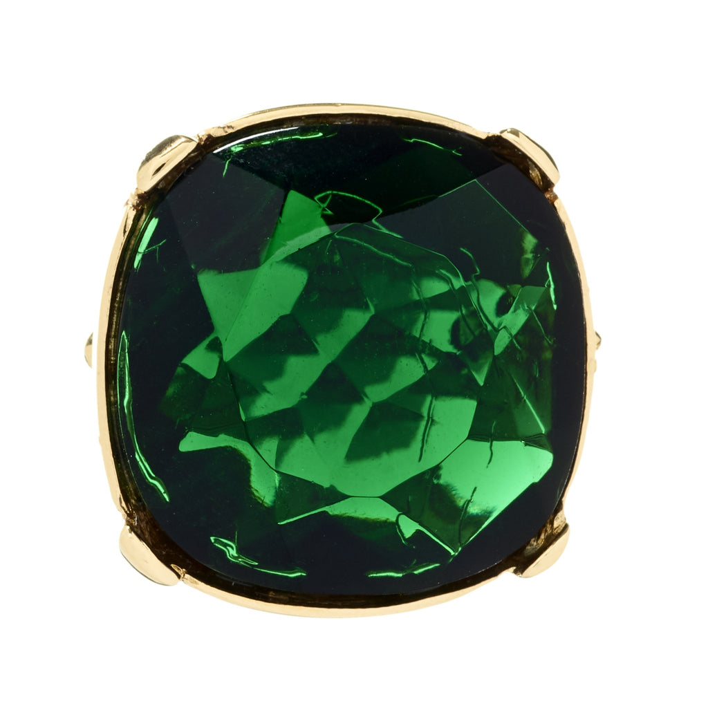 Vonda Emerald Cocktail Ring