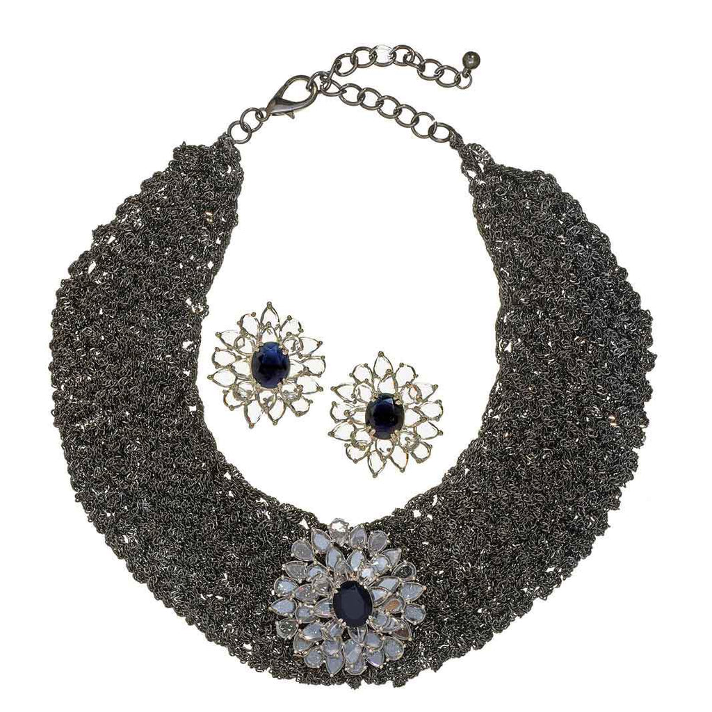 Nichelle Mesh Necklace Set
