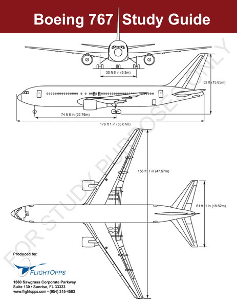 Boeing B767 Study Guide