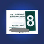 U.S. Customs Decal