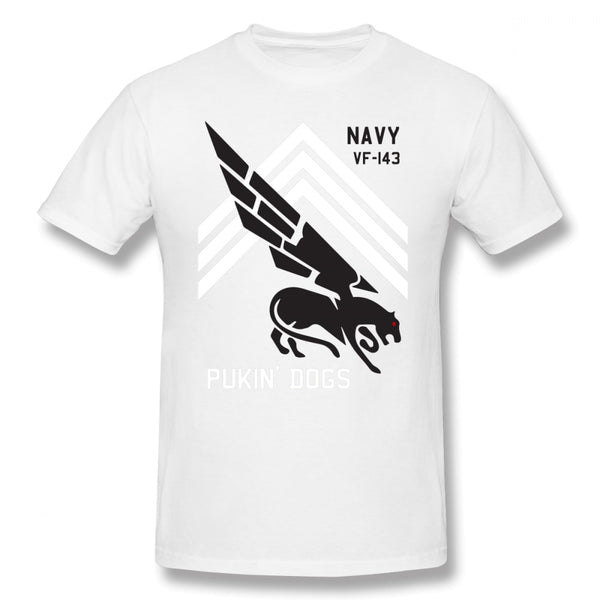 Aviator Pilot T Shirt VF 143 Pukin Dogs Sans Reproache T-Shirt 100 Cotton Funny Tee Shirt Mens Classic Short-Sleeve Print Tshirt